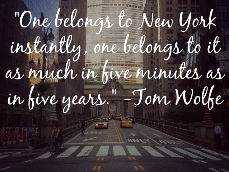 40 Favorite Quotes About New York City New York Cliché Awesome Nyc Quotes