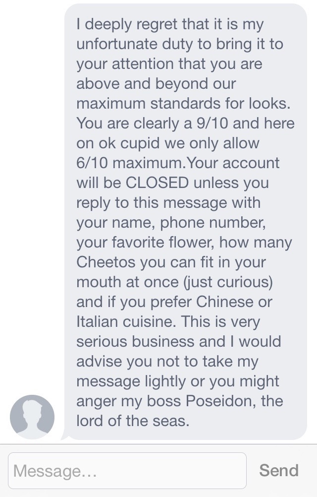 Best way to start a message online dating