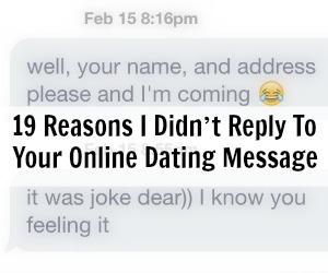How to guarantee a reply online dating