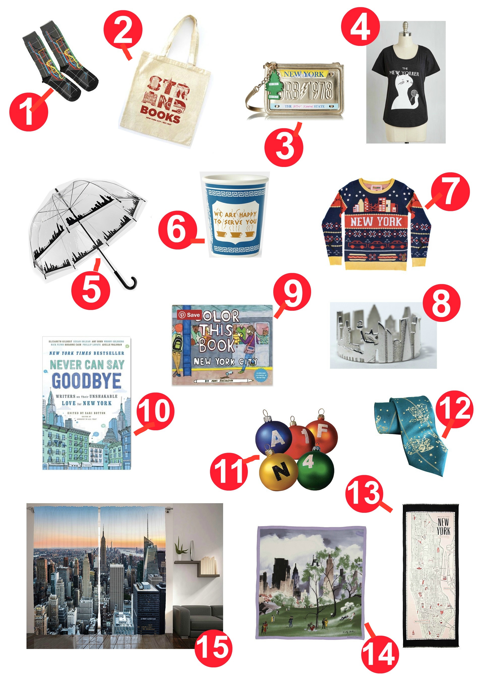The Ultimate I Love New York Gift Guide - New York Cliché