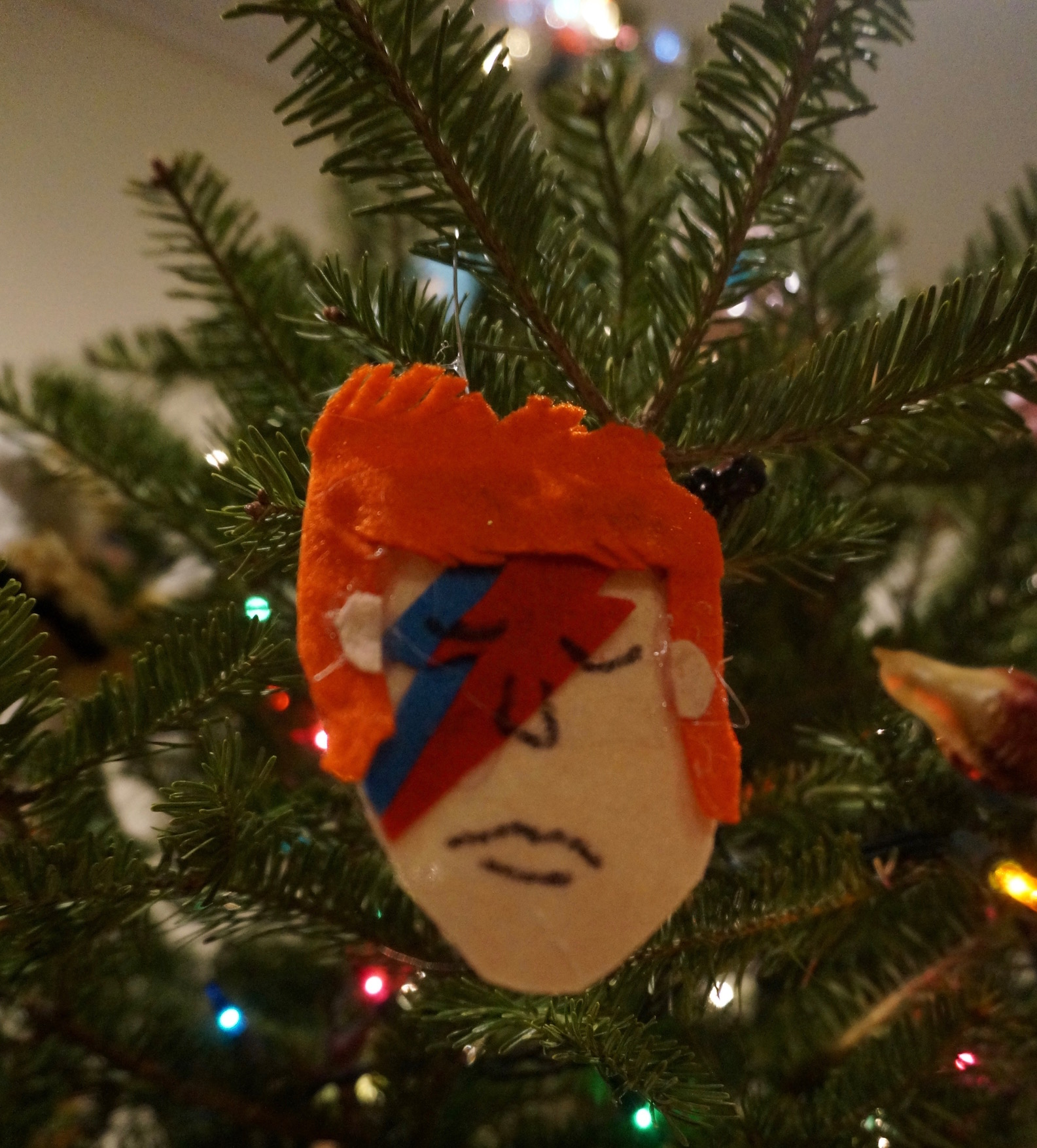 christmas ornament david bowie - David Bowie Christmas
