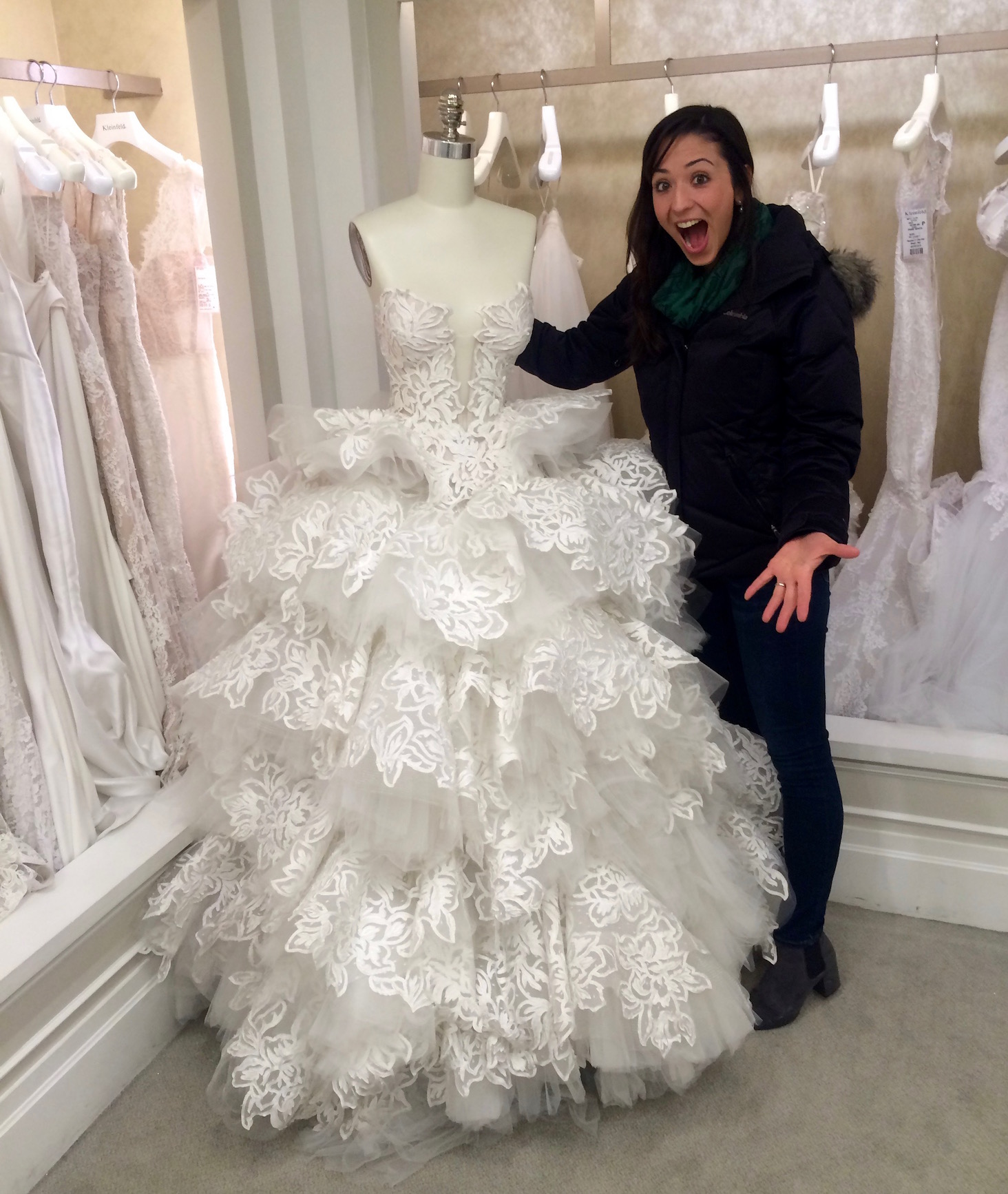 02e02094ef57 Jaded New Yorkers Experience Kleinfeld Bridal (the One from Say Yes to the  Dress) - New York Cliché