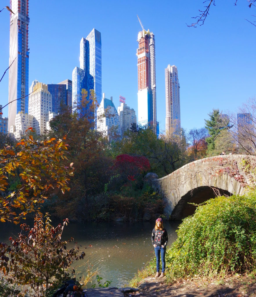 Centeral Park: Bright Foliage, Big City: New York Fall In Central Park